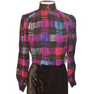 Vintage 80s Silk Starington Blouse